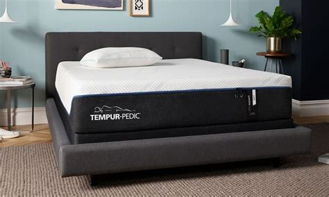 tempur proadapt soft memory foam  king mattress