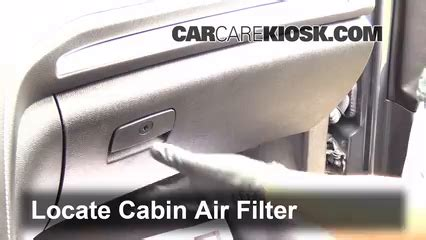 cabin filter replacement gmc acadia    gmc