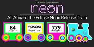 Eclipse Neon release finally brings HiDPI scaling across