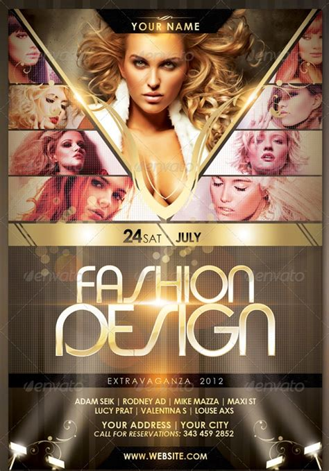 awesome fashion flyer psd designs design trends