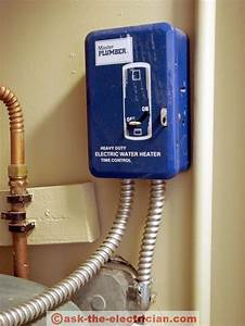 Wire A Water Heater Time Clock