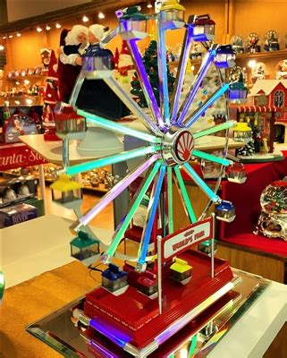 christmas  worlds fair ferris wheel