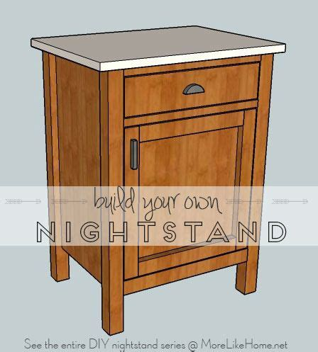 Nightstand Plans Free by Nightstands Day 8 Classic Cupboard More Like Home