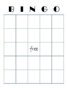 bingo template images bingo template school