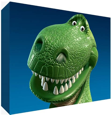 dino dinosaur toy story canvas art choose  size
