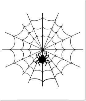 spider web template pumpkin carving patterns