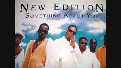 New Edition - Something About You (1996) - YouTube