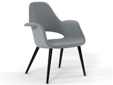 organic chair 3d model vitra