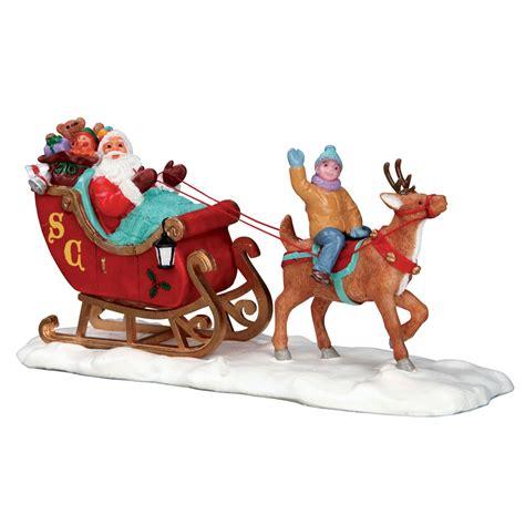 lemax santas sleigh table accent  bosworths