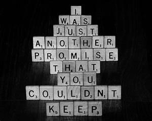 broken promises on Tumblr