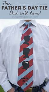 Father's Day Tie - The Crafting Chicks