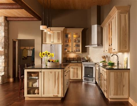 woodwork kitchen designs rustic hickory kitchen cabinets solid wood kitchen 1184