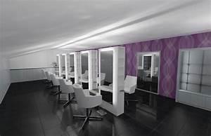 Mobilier Salon De Coiffure : mobilier pour salon de coiffure ~ Teatrodelosmanantiales.com Idées de Décoration