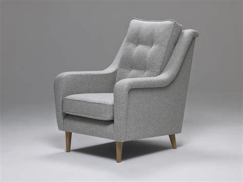 Model 1 High-backed Mid Century Armchair From Living Room