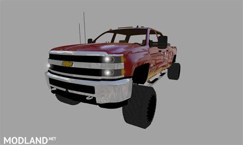 chevy silverado hd duramax   mod farming simulator