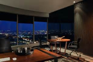 interior design for home office outside views of expressive office interior in luxury and warmth design home building