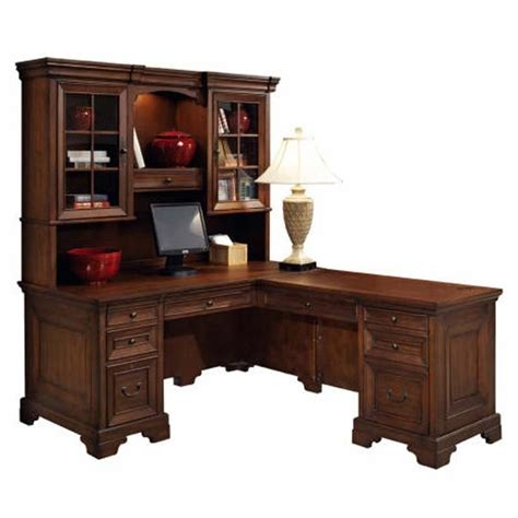 corner l shaped office desk with hutch best 25 corner desk with hutch ideas on l