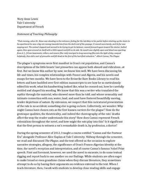 teaching philosophy template 9 teaching philosophy statement exles marital settlements information