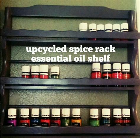 Spice Rack Essentials by Diy Essential Shelf From Upcycled Thrifted Spice Rack