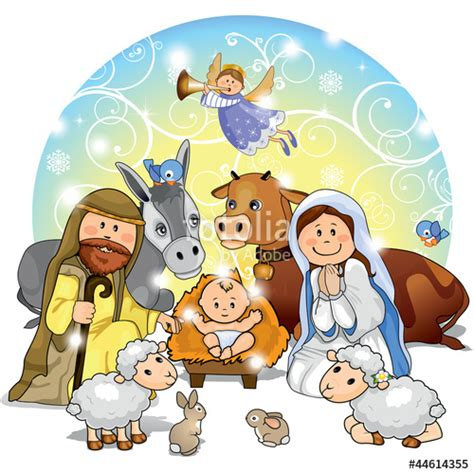 presepe clipart quot presepe di natale quot stock image and royalty free vector