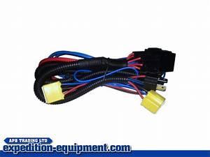 H4 Wiring Loom Amplifier Kit