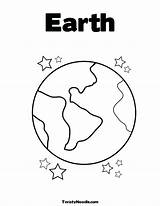 Earth Coloring Pages Planet Printable Preschool Planets Template Drawing Globe Stars Sheets Space Saturn Print Clipart Colouring Templates Preschoolers Kindergarten sketch template