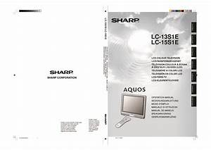 Sharp Lc  Operation Manual