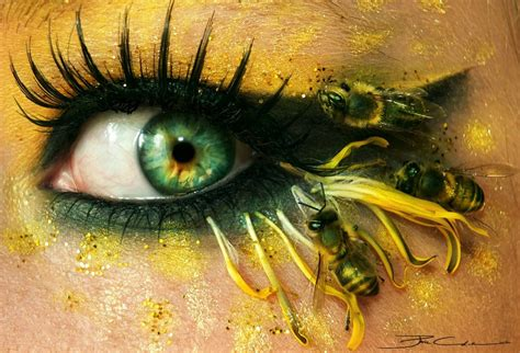 extraordinary eye art designs  inspire  creativity