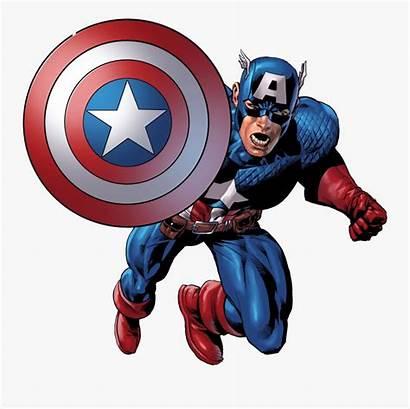 Captain America Clipart Cartoon Head Transparent Clipartkey