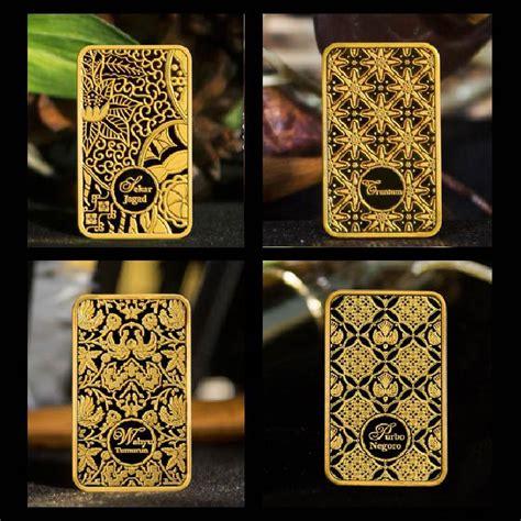 Kalung Batik Sekar We02 tambah koleksi batik dalam bentuk batangan emas ragam