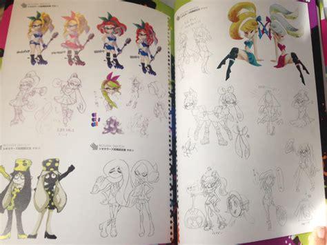 art book splatoon quelques images du livre collector
