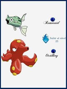 Pokemon Remoraid Evolution Chart Images | Pokemon Images