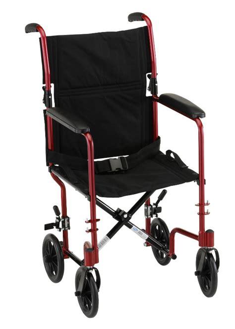 lightweight wheelchair transport chair