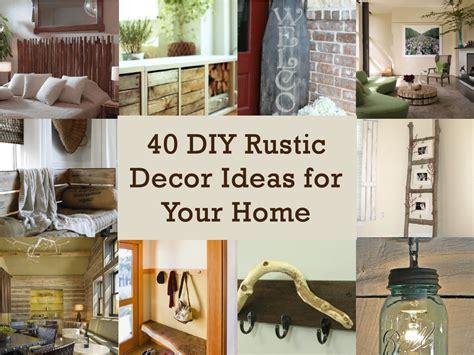 Diy Ideas Decorations Rustic Home Decor Pinterest Rusti On