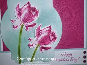Lotus Blossom Mother's Day Card