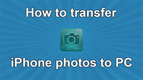 how to move pictures from iphone to pc how to transfer iphone photos to pc youtube How T