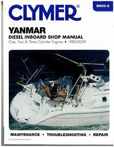 Clymer Yanmar Diesel Inboard Shop Manual  U2013 One  Two  Three