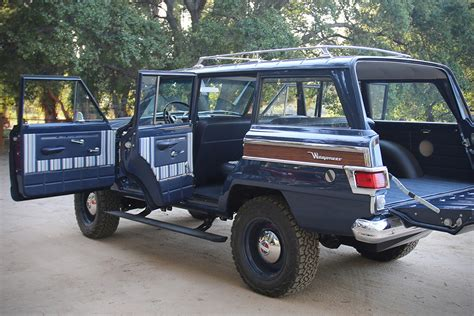 icon jeep interior 1965 kaiser jeep wagoneer by icon 4x4 hiconsumption