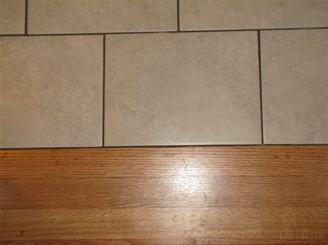 hardwood floor to tile transition the gold smith