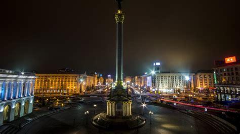 full hd wallpaper independence square kiev ukraine
