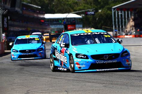 volvo race car volvo polestar racing scores first v8 supercars victory