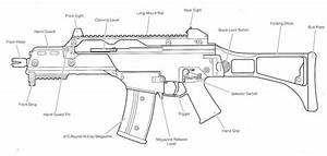 G36 Series Airsoft Gun Parts Diagram