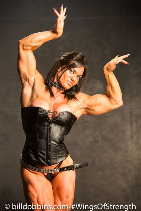helle trevino wings  strength