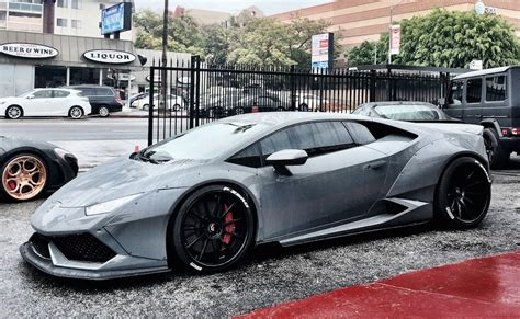 grey liberty walk lamborghini huracan   sight  behold