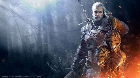 Witcher Animated Wallpaper - the witcher 3 hunt v1 1080p wallpaper engine