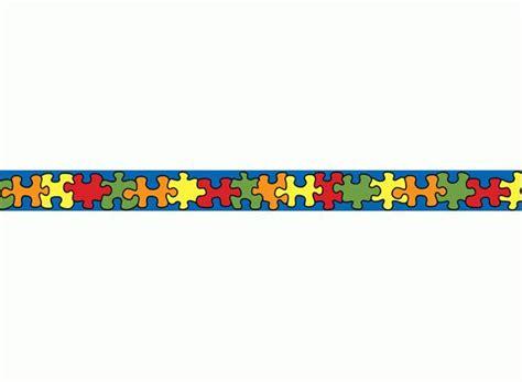 puzzle pieces border