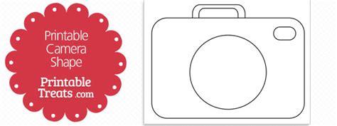 printable camera shape template printable treatscom
