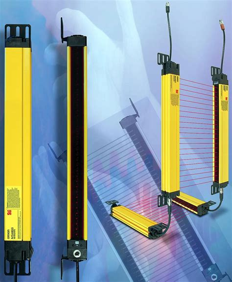 minisafe 174 ms4800 safety light curtains from omron sti