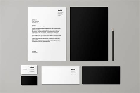 + Modern Stationery Templates