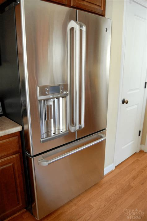 It's Here! The GE Café refrigerator with Keurig Brewer   A